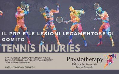 Gomito e tennista: lesione del legamento collaterale ulnare